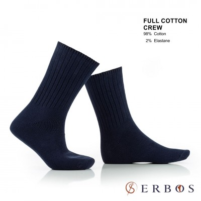 Fullcottoncrewsocks